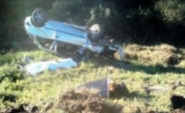 Murió un chamamecero en vuelco de un automóvil en Felipe Yofre