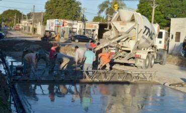 Capital: la avenida Las Heras ya conecta con hormigón Maipú y Chacabuco