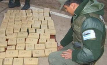 Virasoro: secuestran cerca de 300 kilos de marihuana y detienen a un hombre