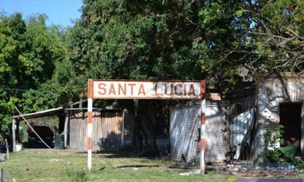 Santa Lucía: El municipio proyecta recuperar el predio del Ferrocarril