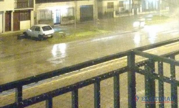 La lluvia genera complicaciones en varios puntos de la provincia