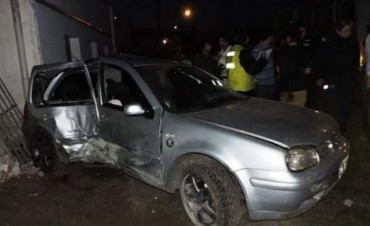 Motociclista murió al ser atropellado por un automóvil en Laguna Brava