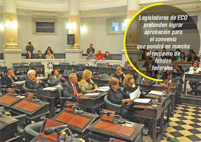 Oficialismo en el Senado espera aprobar acuerdo por coparticipación