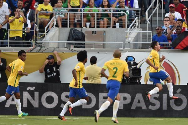 Brasil eliminó a Haití con una aplastante goleada