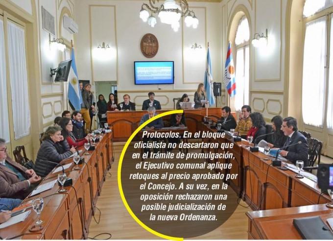 Concejo aprobó Ordenanza que eleva a $7,30 el precio del boleto
