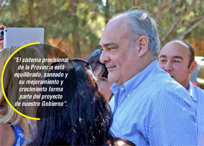 Colombi negó traspaso a Nación del sistema previsional provincial