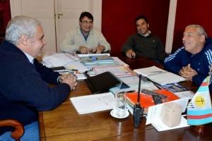 Encuentro entre Ríos y Bassi antes del Congreso Justicialista