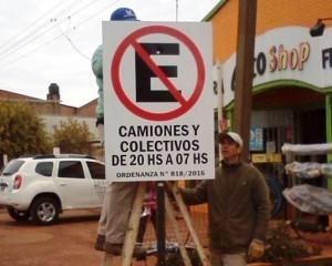 Virasoro: prohibieron que camiones se estacionen sobre la Ruta 14