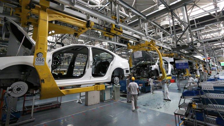 Fuerte caída de la producción industrial: fue de 6,7% en abril