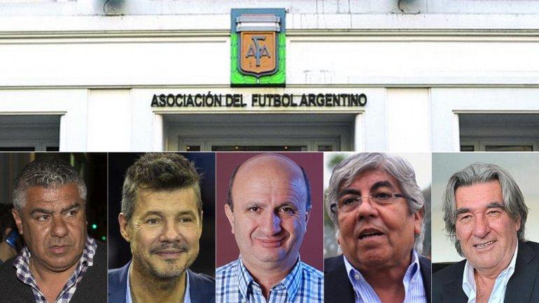 Reunión clave en AFA: aprobaron a los cinco candidatos e intentarán reunirse con Macri