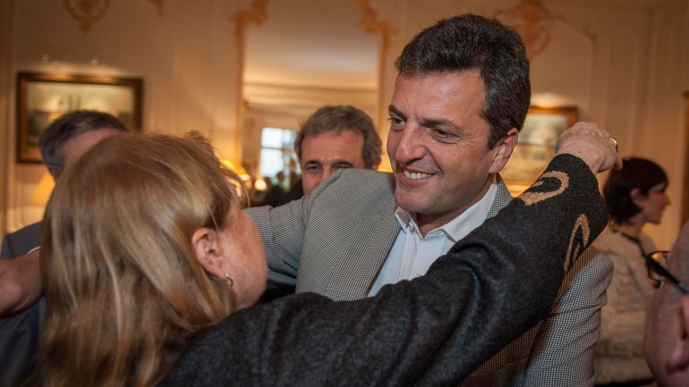 Sergio Massa apoyó la candidatura de Susana Malcorra en la ONU