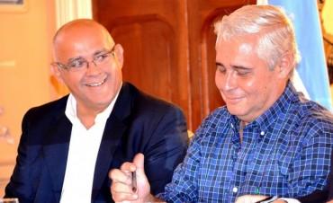 """Ríos y Vignolo tuvieron un encuentro """"fugaz"""""""