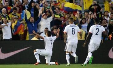 Colombia venció a Paraguay y es el primer clasificado de la Copa América