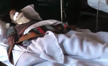 Policía inició de oficio una investigación por presunta golpiza de ladrones a una mujer mayor