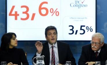 Sergio Massa le pidió al Gobierno que suspenda el aumento de tarifas