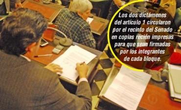 Diputados prevé votar el acuerdo para recupero de la coparticipación