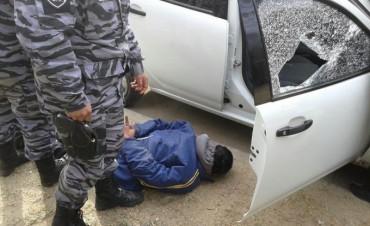 Delincuente atrapado en momento del robo