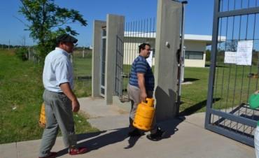 Gas en garrafa: descartan la venta en las delegaciones municipales