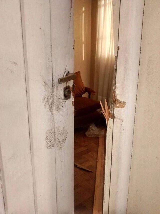 Cristina denunció que violentaron la vivienda de los padres de Néstor