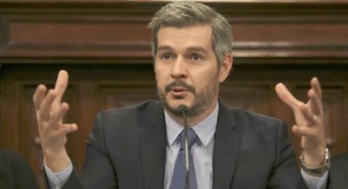 Fuerte apoyo de Marcos Peña a Tassano-Lanari