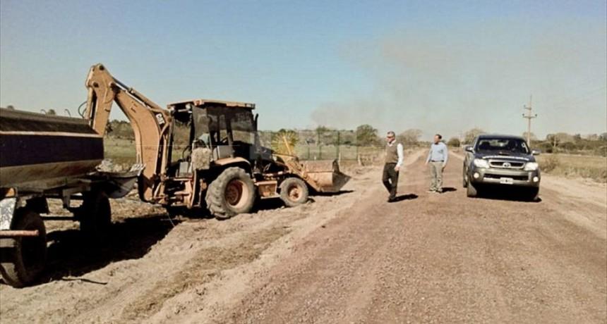 Iberá: habilitan ripio en ruta que conecta con la costa del Uruguay
