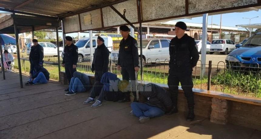 Cuatro correntinos fueron detenidos en Misiones tras el asalto a una empresa