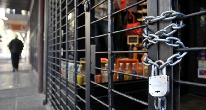 8.500 comercios cerrados entre abril y mayo