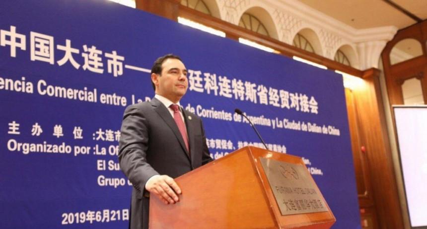 Valdés sigue adelante con su misión en China y abre mercados para Corrientes