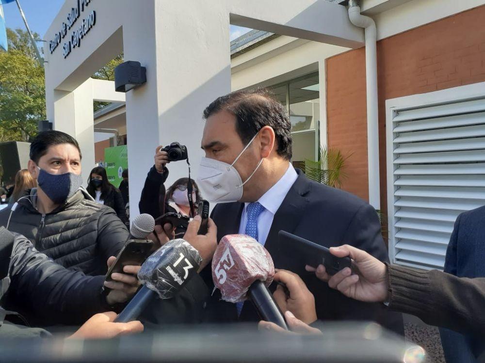 Coronavirus: Valdés garantizó el plus para salud y seguridad