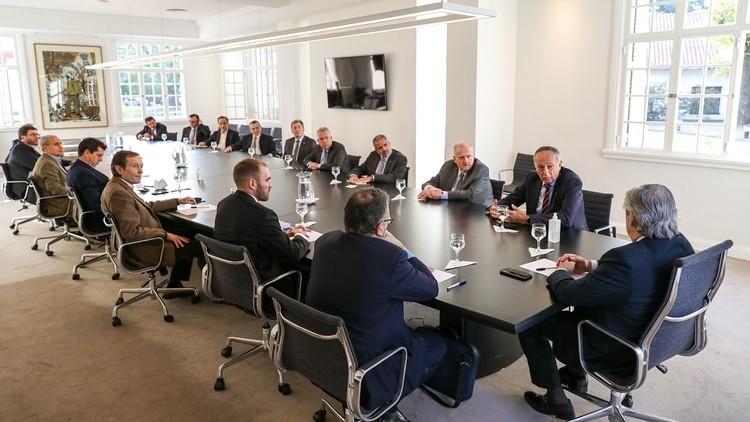 Alberto Fernández les pidió apoyo a los principales empresarios del país para la salida de la pandemia