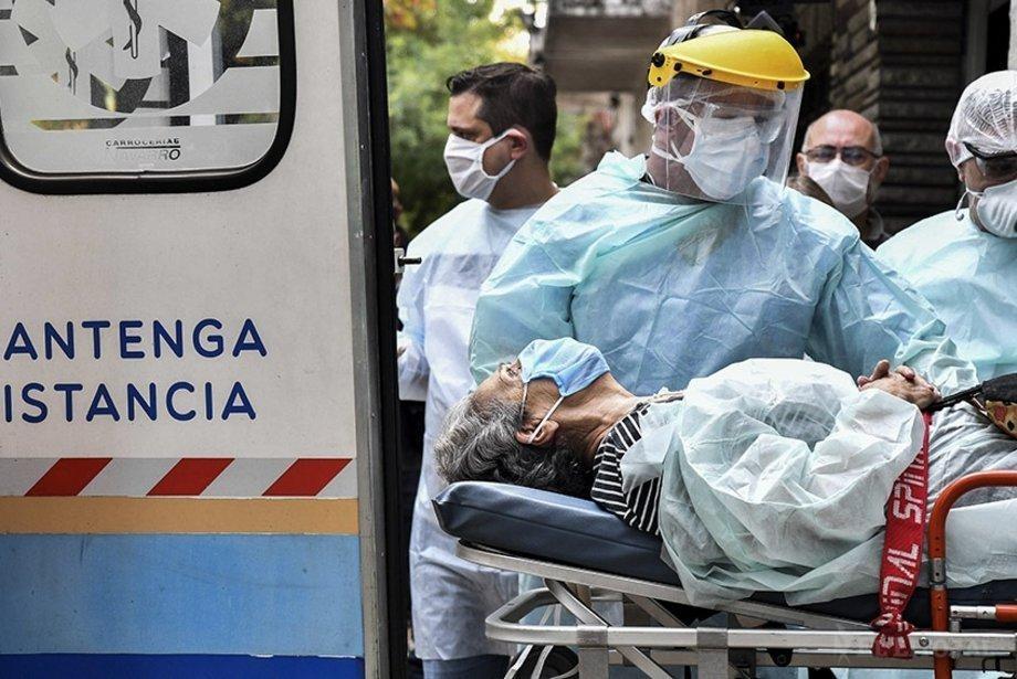 Coronavirus: nuevo récord de contagios con 949 casos y 14 muertos