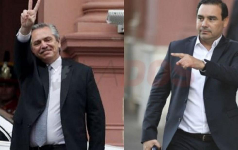 Coronavirus en Argentina: Gustavo Valdés se reunió con Alberto Fernández