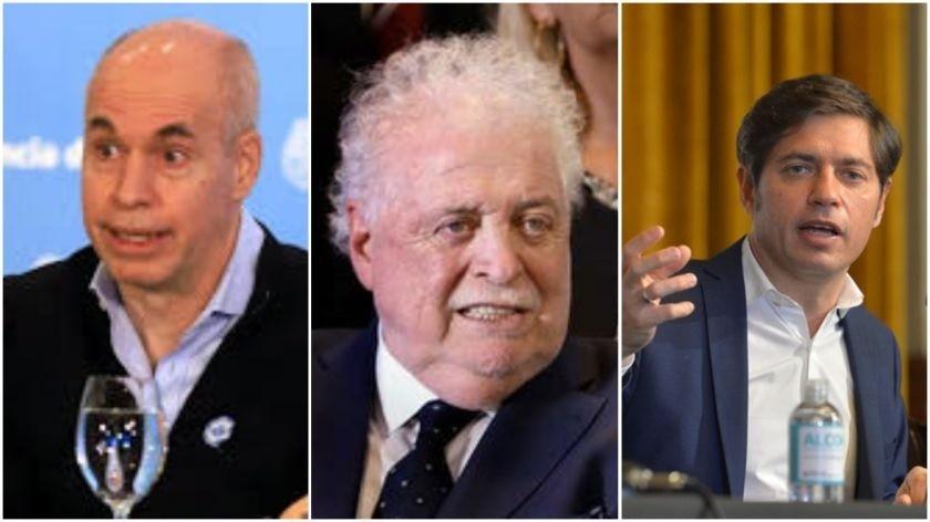 Cuarentena: Larreta, Kicillof y Ginés analizan esta tarde