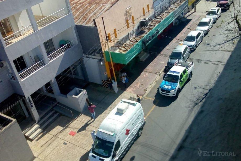 Provincia entregó los primeros resultados de los hisopados en un edificio del centro