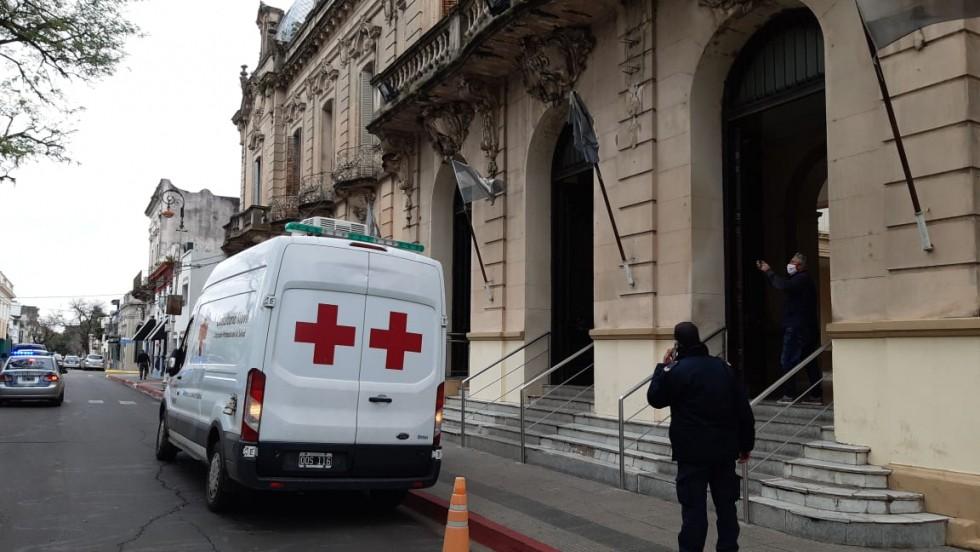 Coronavirus: activaron protocolo en Jefatura de Policía por una mujer que llegó del Chaco