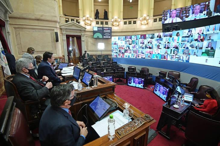 El Senado aprobó la bicameral para investigar la deuda de Vicentin y para la oposición se trata de una