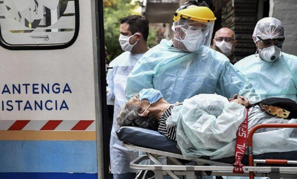 Covid en Argentina: Se registraron 26.934 casos y 689 muertos