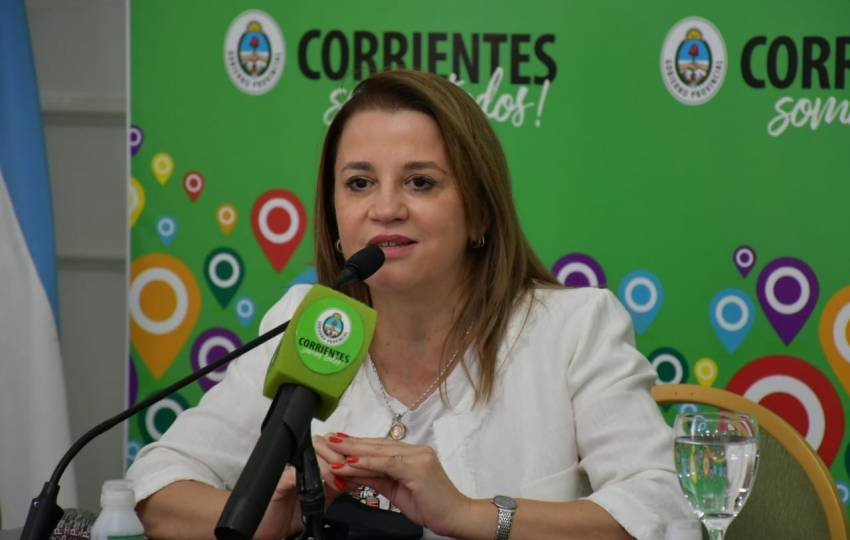 """Clases presenciales en Corrientes: Según la Ministra """"es necesario retomar conceptos antes del receso invernal"""""""