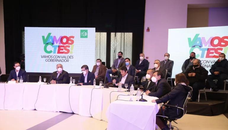 Valdés pone segunda y reúne a socios de ECO para el trabajo fino de la campaña