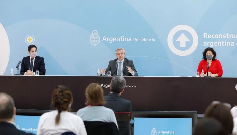 Alberto Fernández apoyó la propuesta de CFK en Salud y disparó contra Larreta