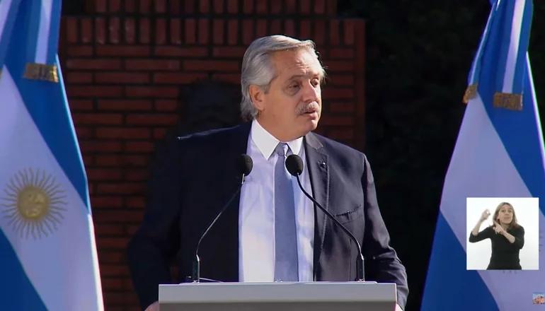 Alberto Fernández y su discurso por el Día de la Bandera: