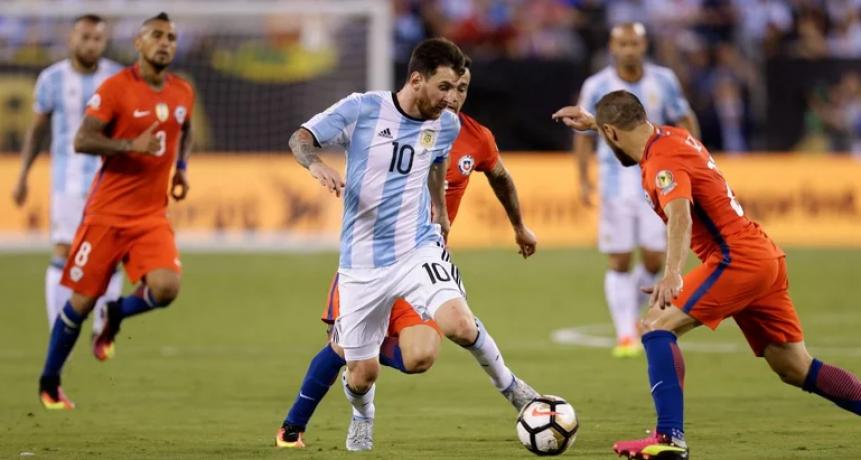 Argentina vs. Chile: TV, hora, streaming y formaciones por las Eliminatorias 2021