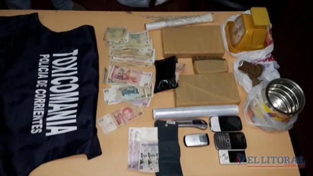 Detienen a un hombre con 2 kilos de marihuana en un procedimiento en el barrio Güemes