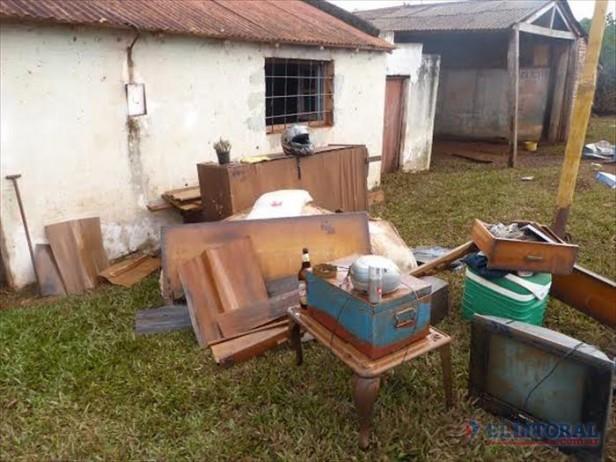 Más de 3.500 evacuados en las localidades más afectadas por la creciente del Uruguay