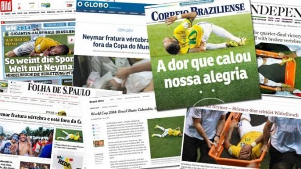 Brasil llora por Neymar: