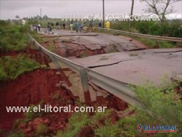Con el agua se fue un trecho de la Ruta 94 y al pedido de pavimentarla se suma el de elevarla