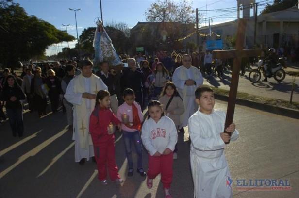 La fe en María de Itatí se sintió en las calles