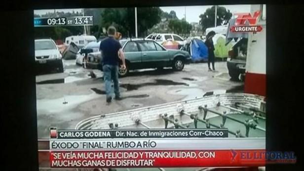 Último éxodo de argentinos a Río