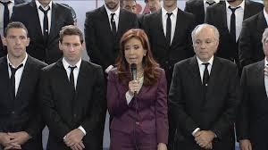 Cristina: ''Fueron unos leones, sentí orgullo como todos los argentinos''