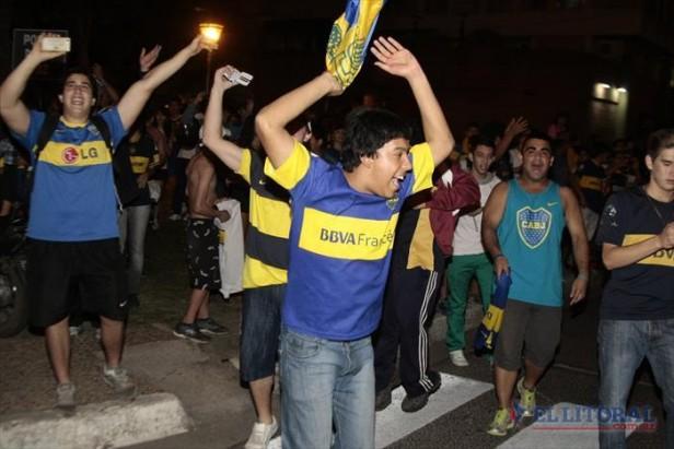 """Corrientes le brindó una cálida bienvenida al plantel """"xeneize"""""""